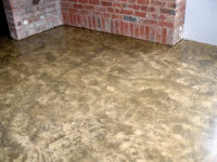 Concrete slab in a home - finished with Ardvos natural oil sealer.