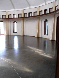Central Hall Hobart Tasmania - Finished with Livos non toxic floor oil.