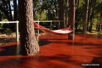 Beautiful spot to relax on this Jarrah deck in WA. Treated by Neil Erasmus with the Alis light teak