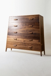 Remy Tramoy- beautiful walnut dresser