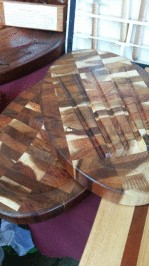 Chris Drysdale- serving platters treated with the Kunos countertop oil 243