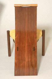 "Blackwood Chair ""Wave"" - Treated with Livos Natural Furniture oils."
