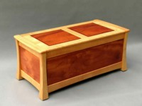 Blanket Box. Red Cedar & Silky Oak - Treated with Kunos.