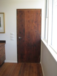 Fryers Road Door - Treated with Kunos natural oil sealer.
