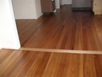 Tasmanian Oak flooring - Completed and oiled.