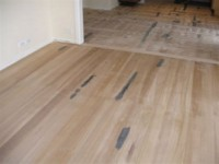 Tasmanian Oak flooring- Rough sanded.