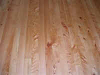 Cypress Flooring - The oils impregnate the timber and hardens from within the timber pores.