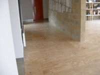 Ply - Treated with Kunos Natural Oil stain in white.