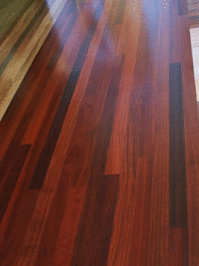 Floor of Jarrah