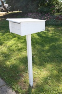 Letterbox - Vindo can also be used externally.