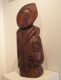 Lorraine Fraser Red Cedar Wood Carving