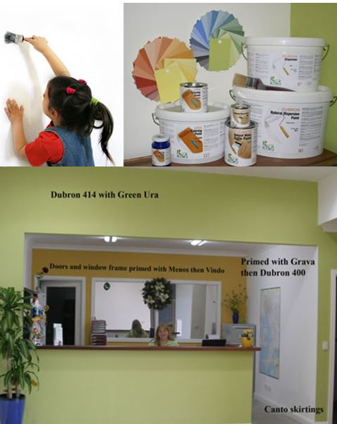 Create a Safe & Natural indoor living environment with Livos Paint - a healthier option