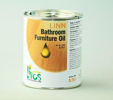 Livos Oils for Bathrooms