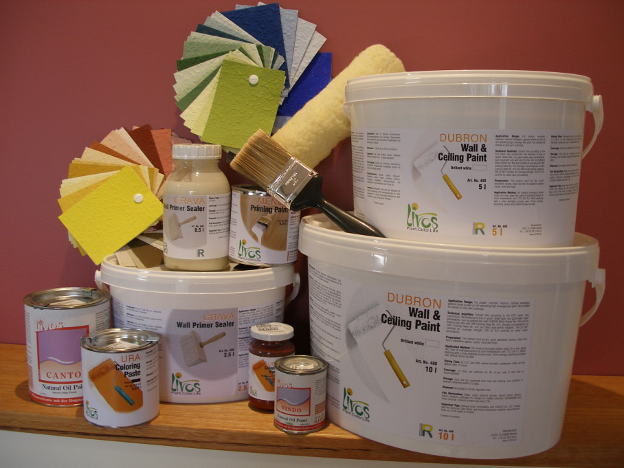 Breathable Paint: Plant based paints, a healthier option.