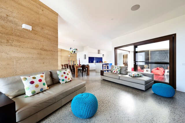 Concrete Flooring with Livos