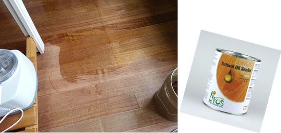 How does the price of Livos' non toxic floor finishes compare to standard varnishes?
