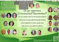Free Environmental Sensitivities Symposium